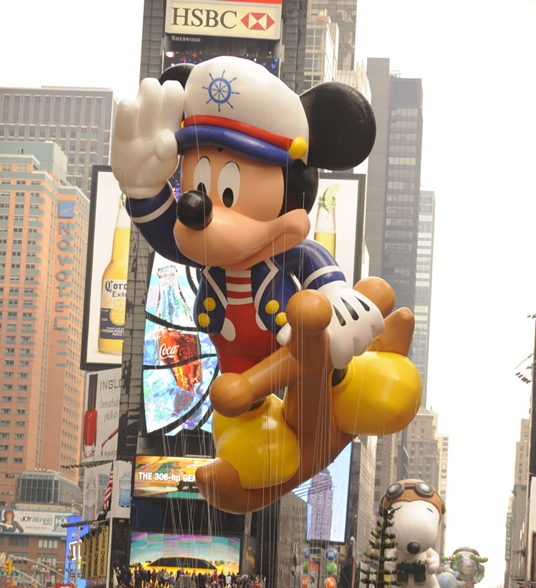 Mickey Mouse Thanksgiving Parade