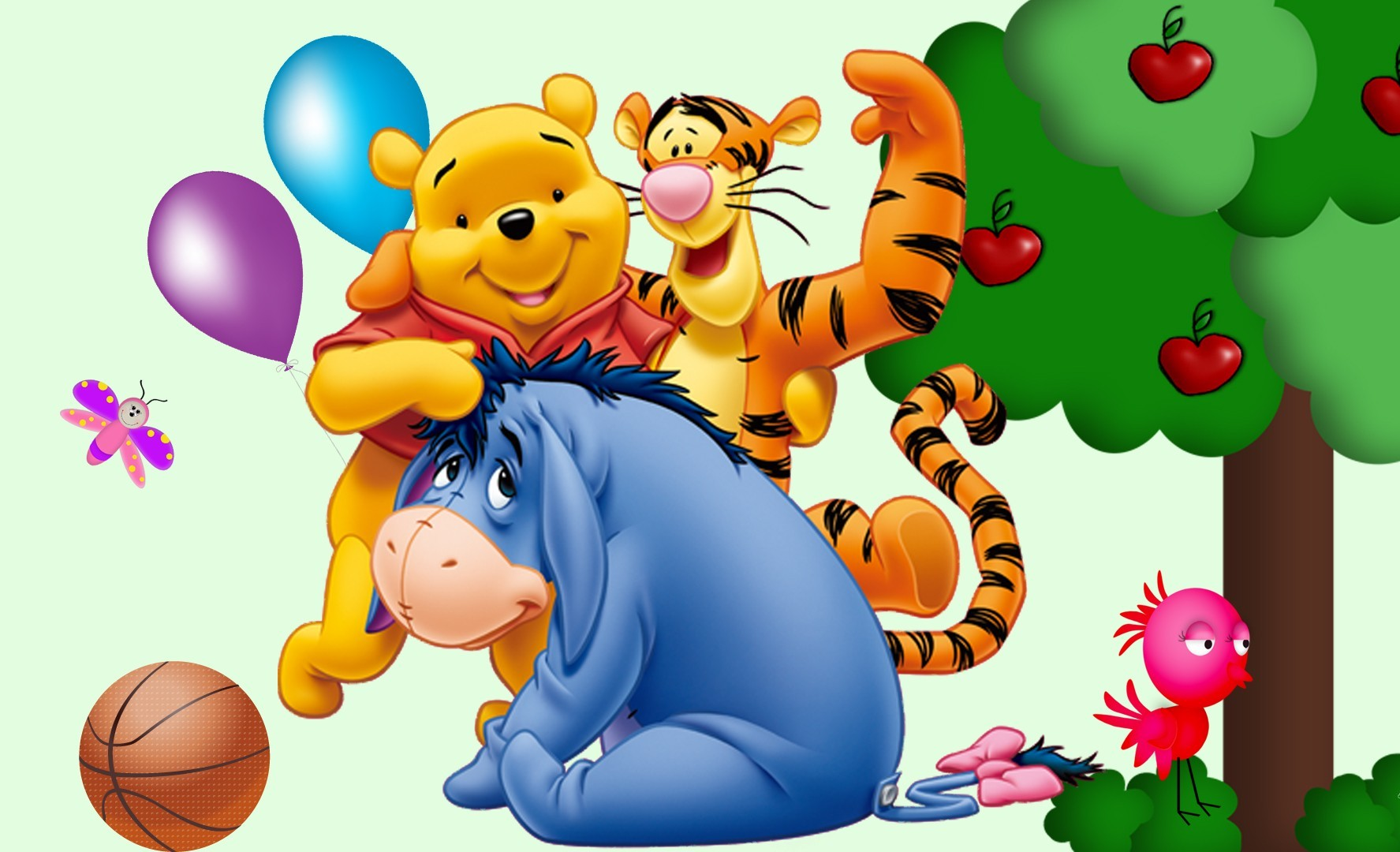 Piglet Wallpaper Iphone Tigger Amp Pooh Mickey Mouse Pictures