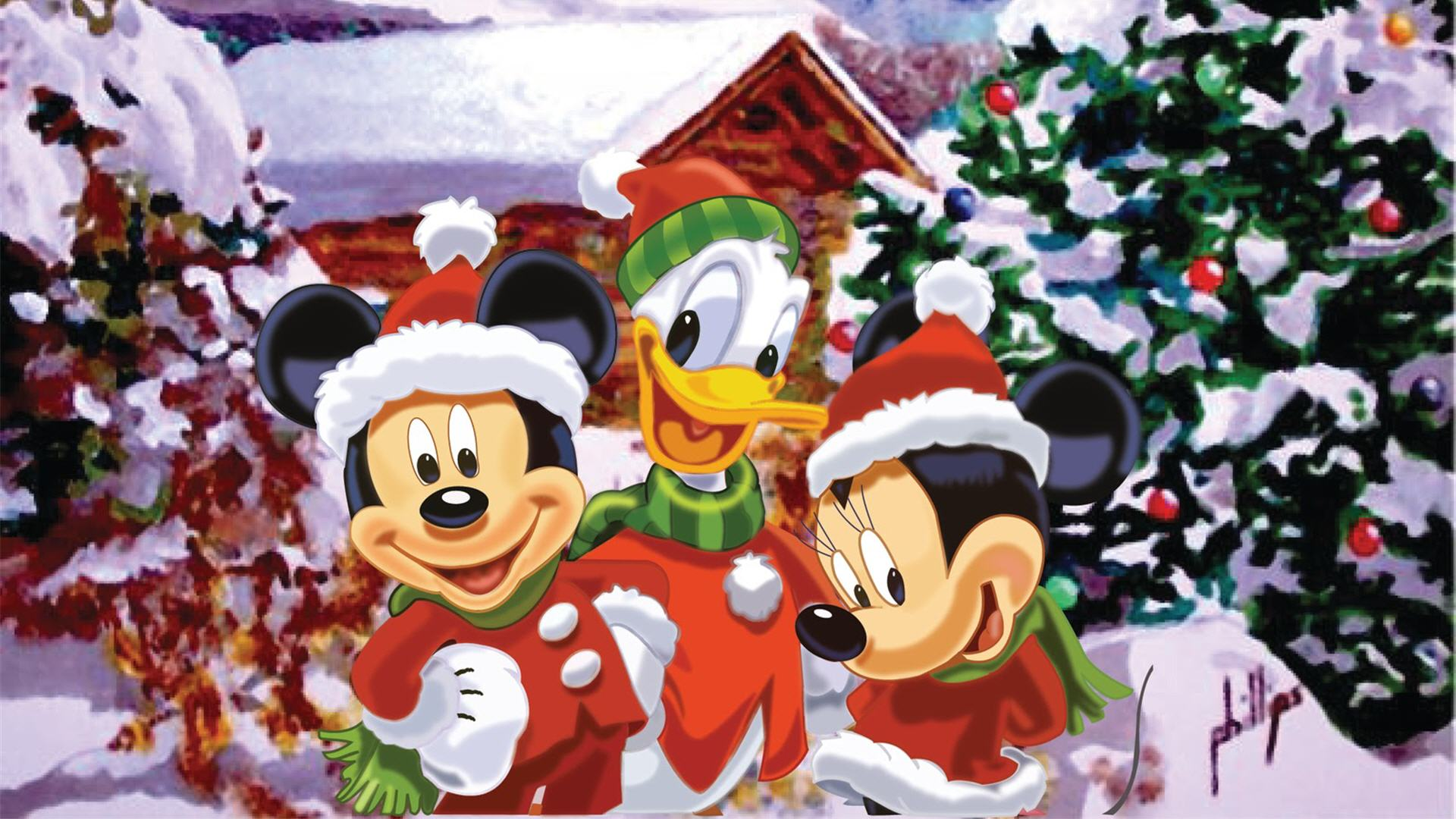 Free Animated Fall Desktop Wallpaper Mickey Mouse Mickeymousepictures Com