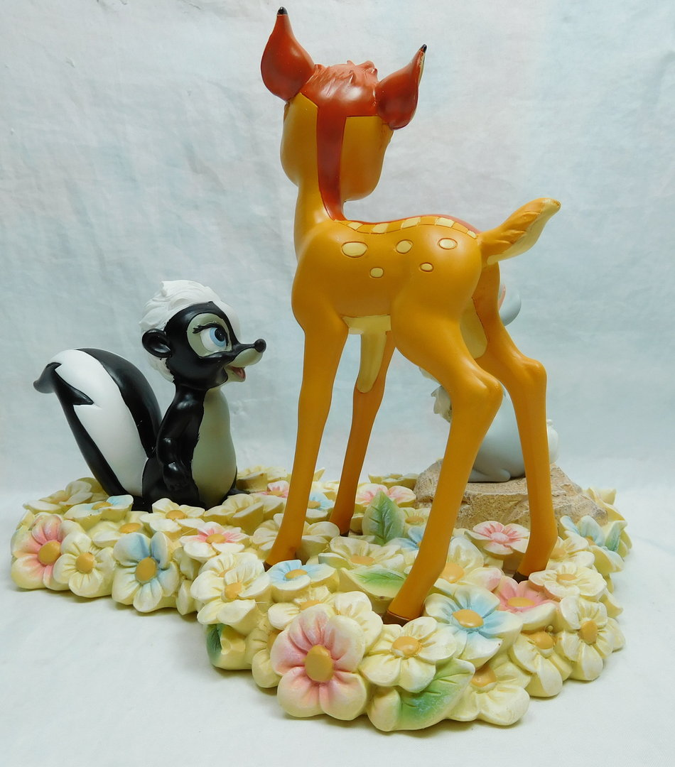 Bettwäsche Bambi Pretty Flower Bambi Thumper Flower Figurine Disney Shop