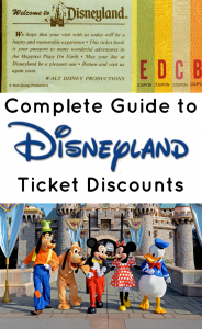 Finding disneyland discount tickets getting them cheap