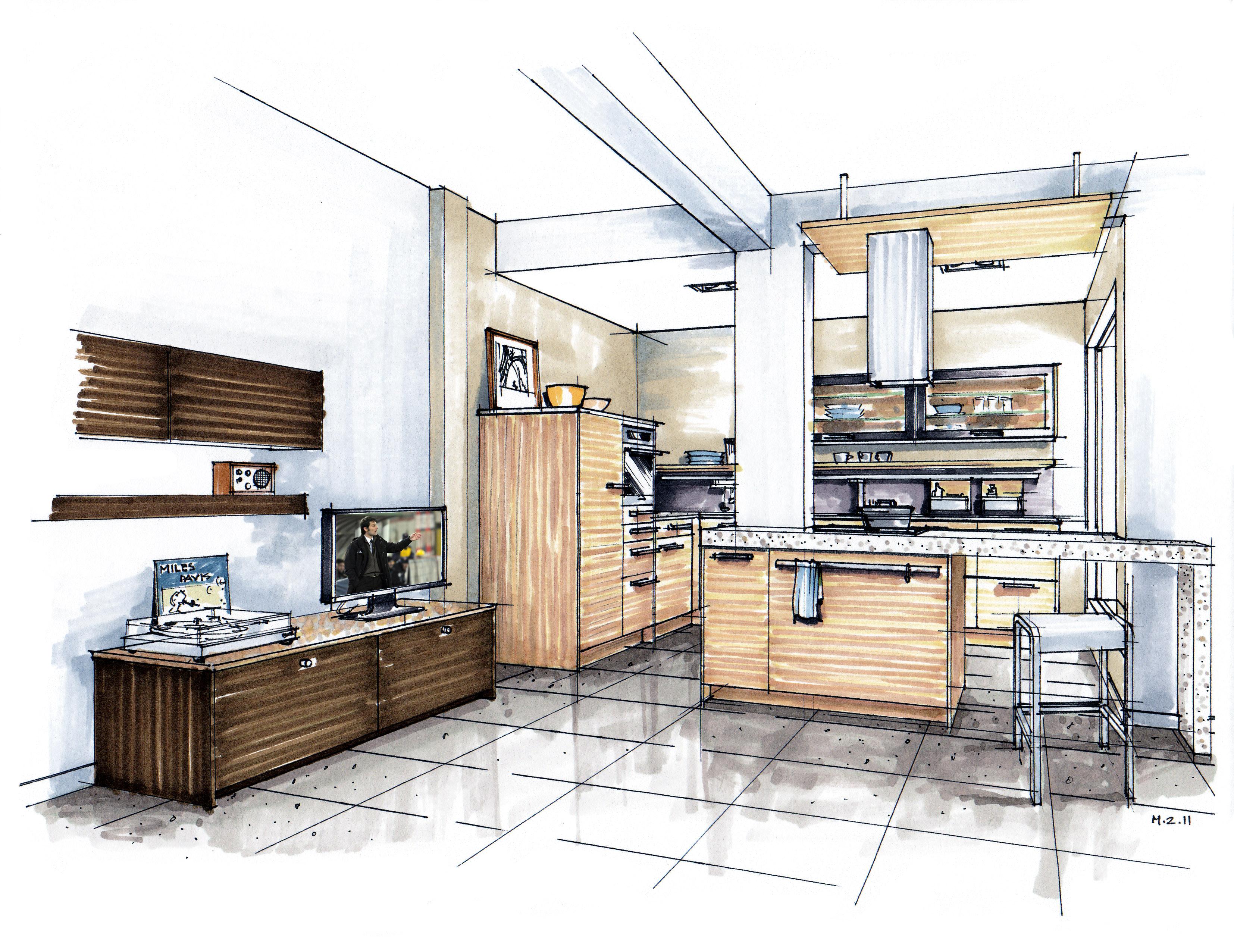 cv designer cuisine