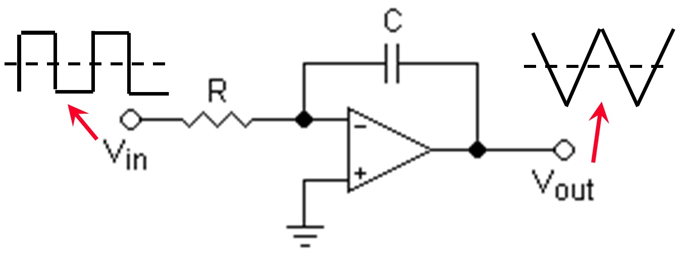 rc integrator circuit