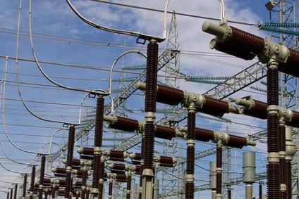 Stromversorgung - Umspannwerk
