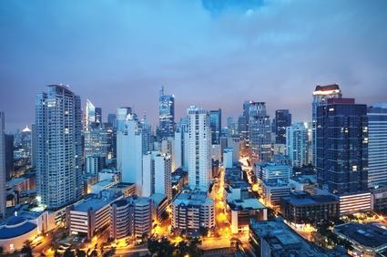 Makati skyline (Manila - Philippines)
