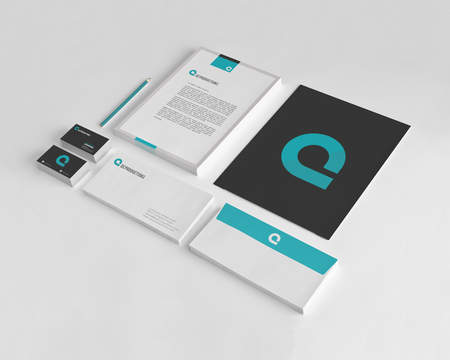 Professional Corporate Identity  Stationery Design by cr3ativelab