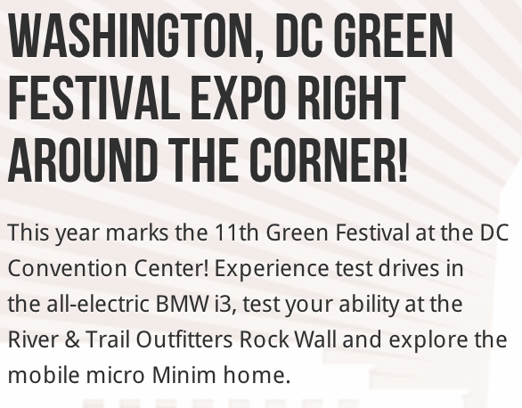 Green Fest Minim House Tour