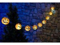 Lunartec Halloween-Dekoration: Solar-Lichterkette mit 10 ...