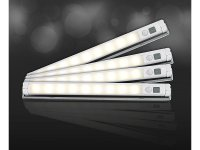 Lunartec LED-Lichtleiste mit Bewegungsmelder, warmwei ...