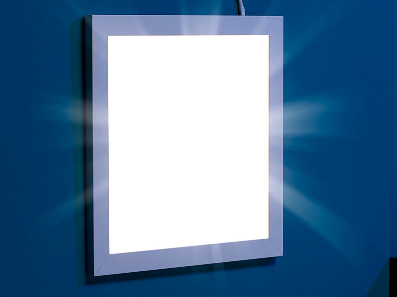 Led Panel Deckenleuchte Lunartec Led Panel 30x30: Led-panel 30 X 30 Cm, 30 W