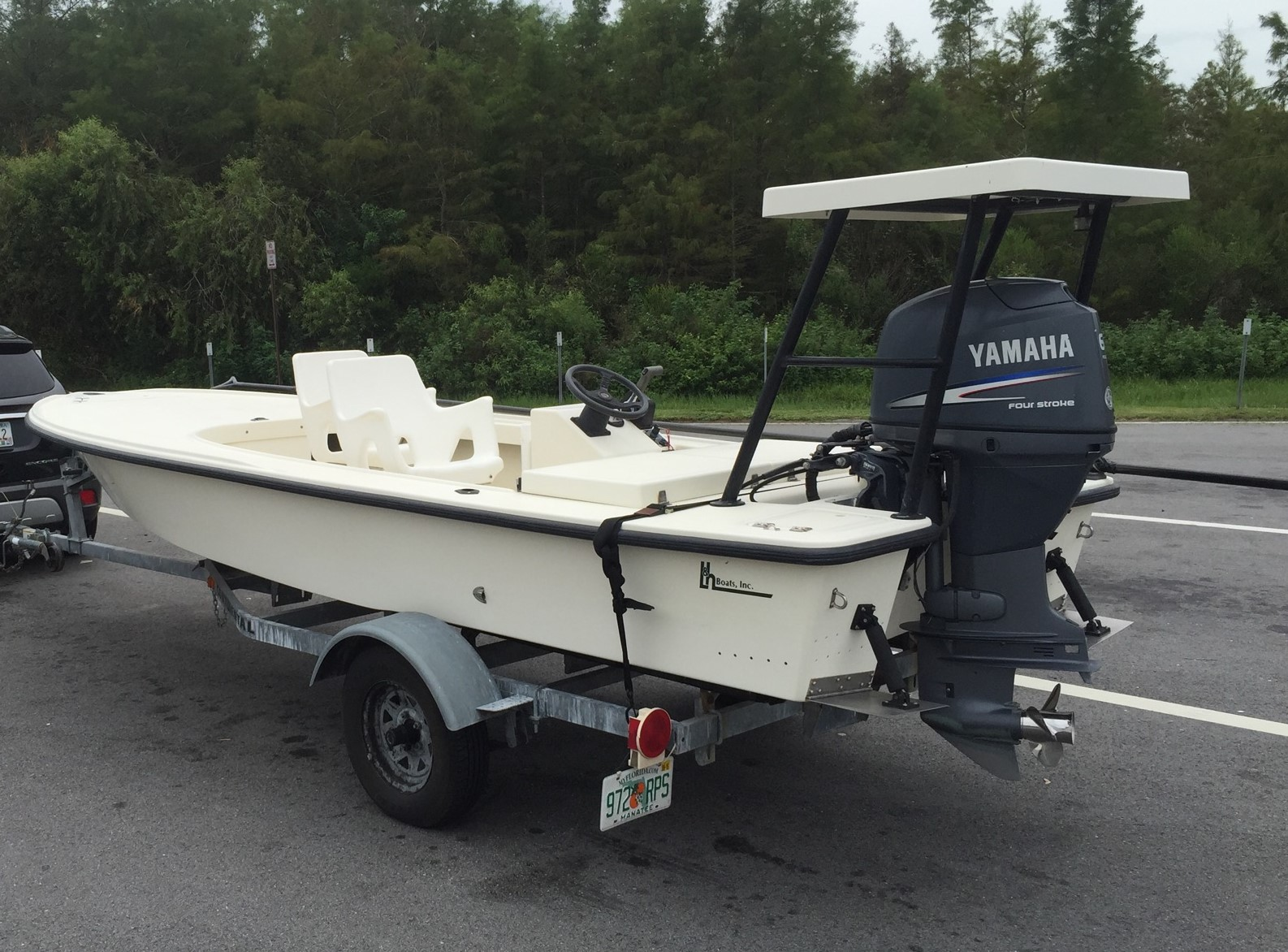 Sold Expired 1999 Lh Willy Flats Boat Microskiff