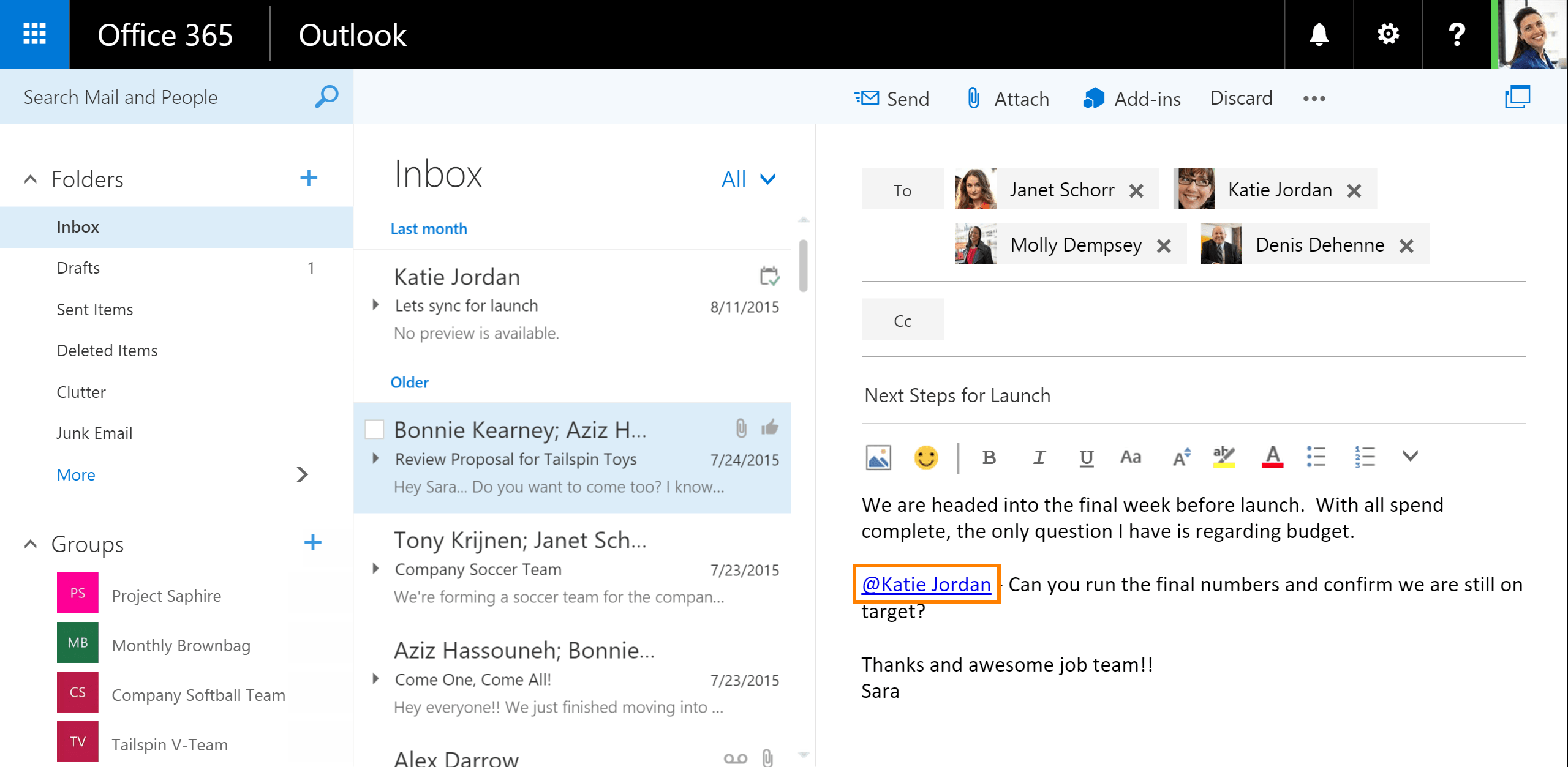 Uitleg Twitter Symbolen Likes And Mentions Coming To Outlook On The Web
