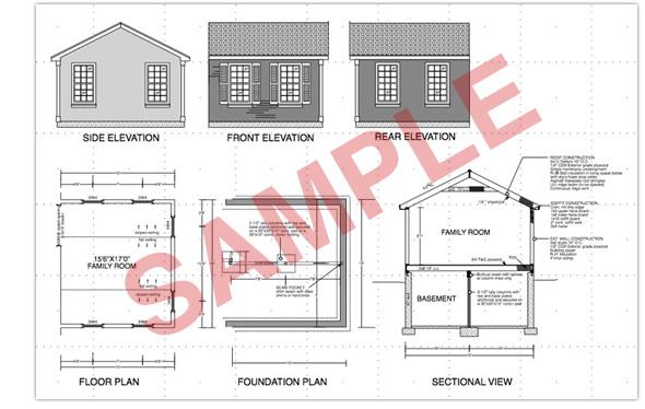complete plans permitting including floor plan foundation plan complete house plans blueprints construction documents sdscad