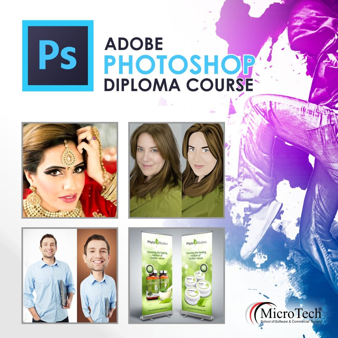 Photoshop Classes Adobe Photoshop Graphic Designing Diploma Short Course In Sialkot Micro Tech Institute Sialkot