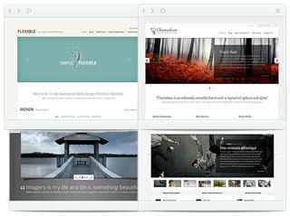 Más de 87 temas diferentes para páginas WordPress
