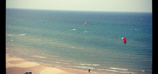 View from Lighthouse at Little Sable Point