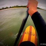 Stand Up Paddleboarding in Manistee on Labor Day