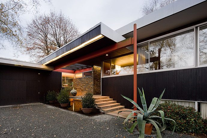 Innenarchitektur Wuppertal A Richard Neutra House In Germany: The Pescher House