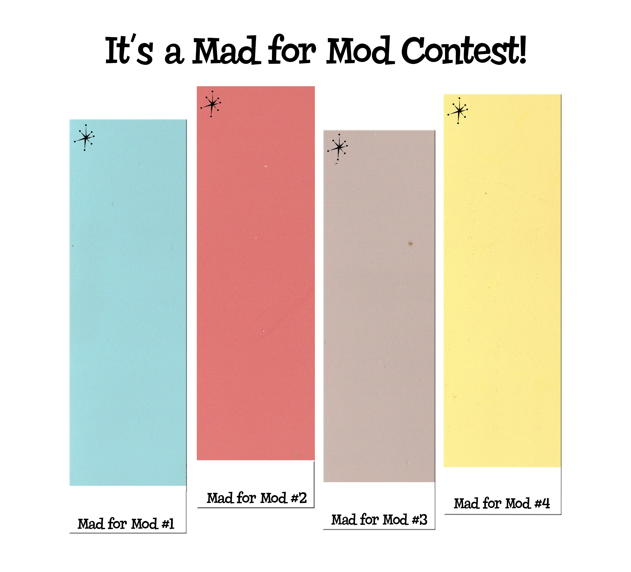 Mid Century Modern Interior Paint Colors Mad For Mod Contest Pick Atomic Color Names And Win