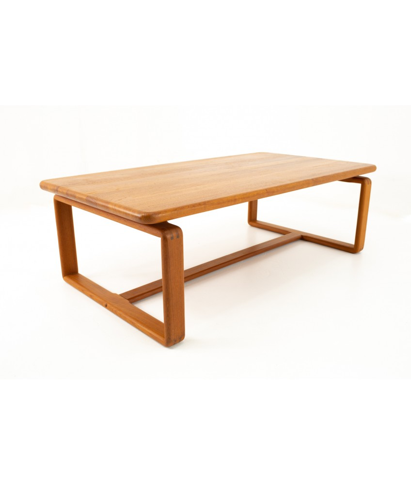 Kd Furniture Mid Century Teak Coffee Table