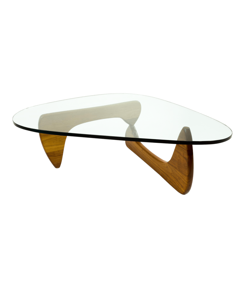 Noguchi Table Early Isamu Noguchi For Herman Miller Glass Coffee Table