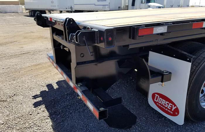 Dorsey Flatbed With Forklift Kit - Princeton  Moffett Piggyback