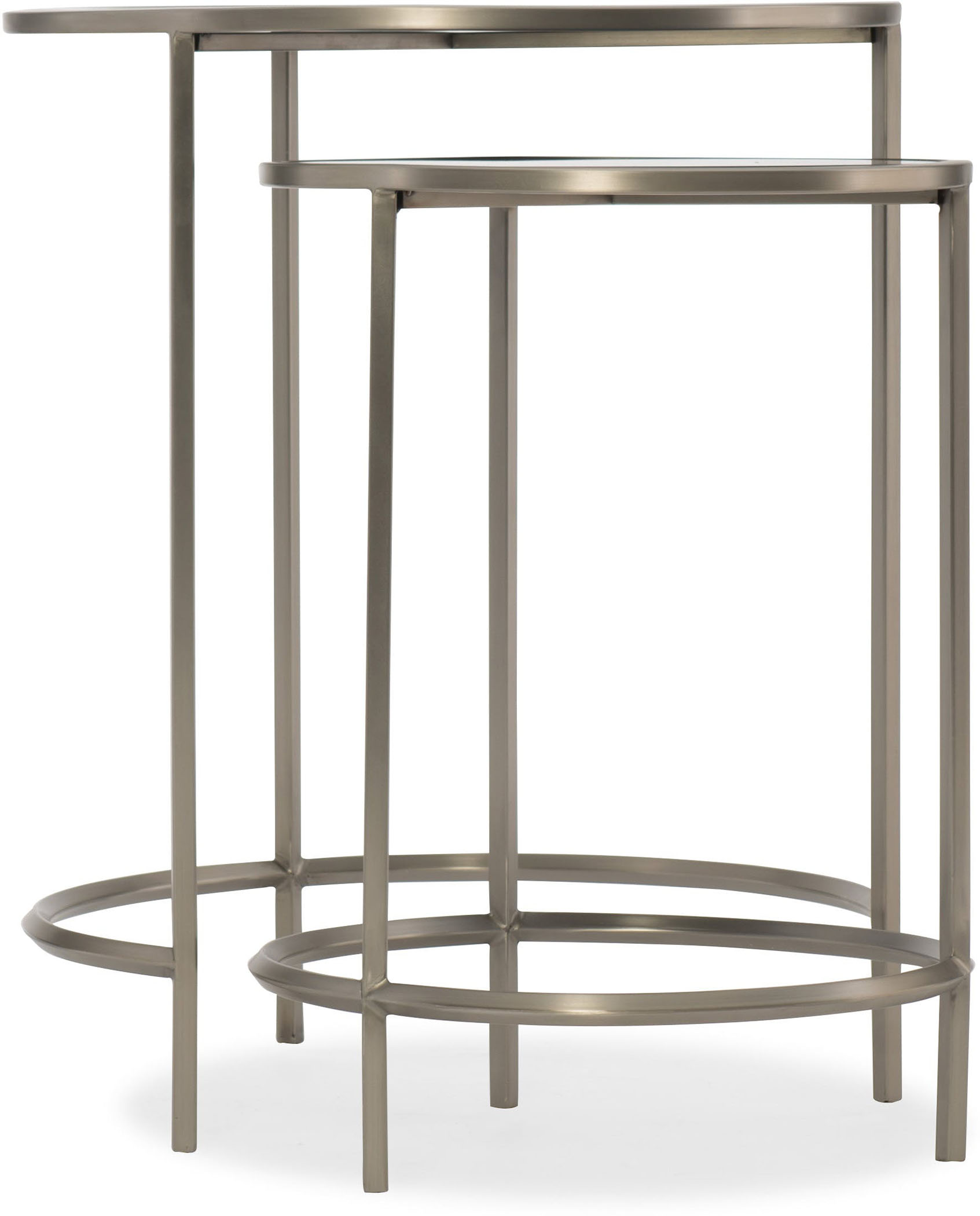 Glass Nesting Tables Glass Top Nesting Tables
