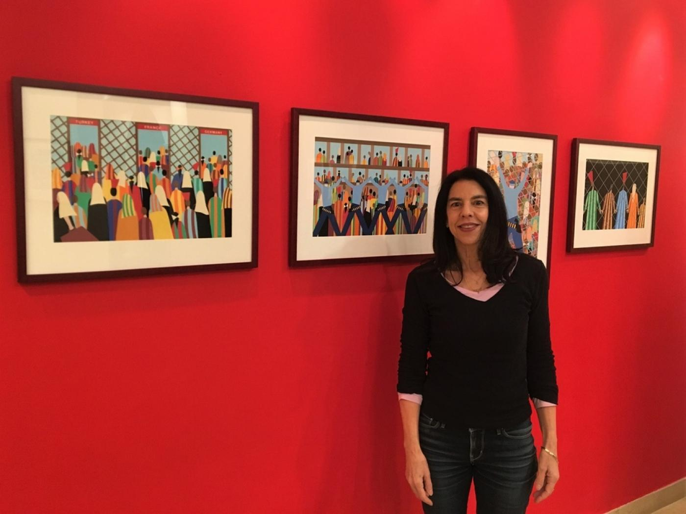 Art Gallery Artist Renowned Arab American Artist Takes On Syrian Crisis In Newest