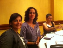 Drs. Delgado, Pomales, and Bartolomei. Coordinators of standards 14, 7, and 8 respectively.
