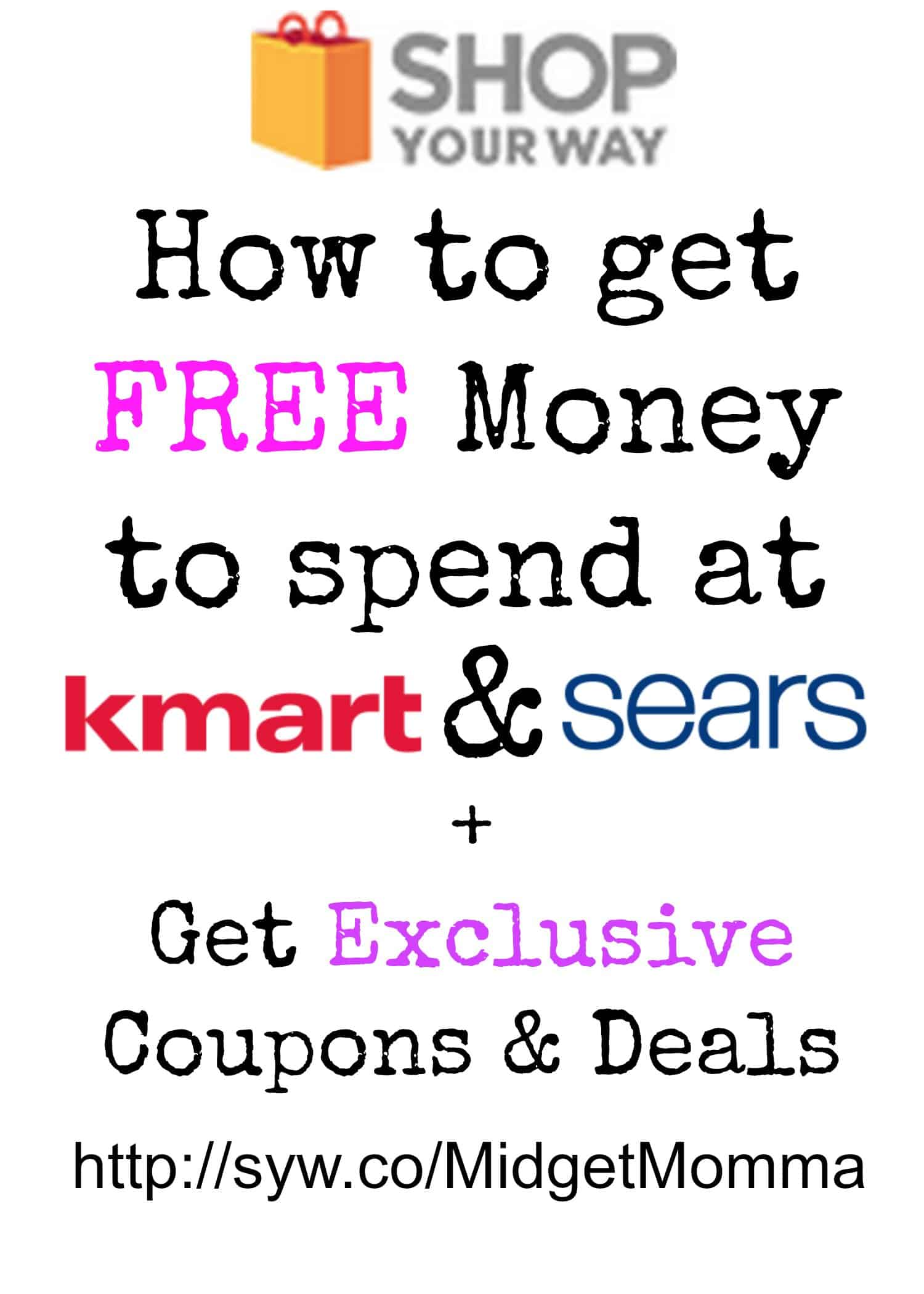Kmart Coupons How To Get Free Money To Spend At Kmart And Sears