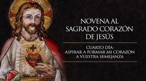 Novena al Sagrado Corazón de Jesús Cuarto día