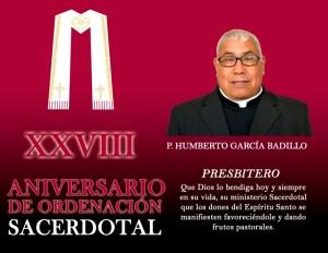 XXVIII ANIVERSARIO SACERDOTAL DE BADILLO
