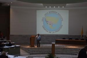 GALERÍA: TERCER DÍA DE TRABAJO EN EL ENCUENTRO DE LA FRONTERA ESTADOS UNIDOS-MÉXICO