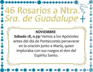 46 ROSARIOS S NUESTRA SEÑORA DE GUADALUPE DÍA 23