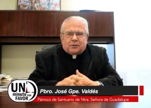 """VIDEO: UN MINUTO POR FAVOR """"45 AÑOS DE SACERDOTE"""""""