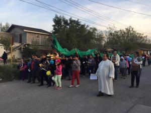 PARROQUIA SAN ANTONIO DE PADUA CELEBRA A LA VIRGEN DE GUADALUPE EN PIEDRAS NEGRAS