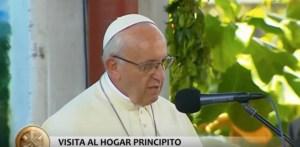 TEXTO y VIDEO: Saludo del Papa a los niños del Hogar El Principito en Puerto Maldonado