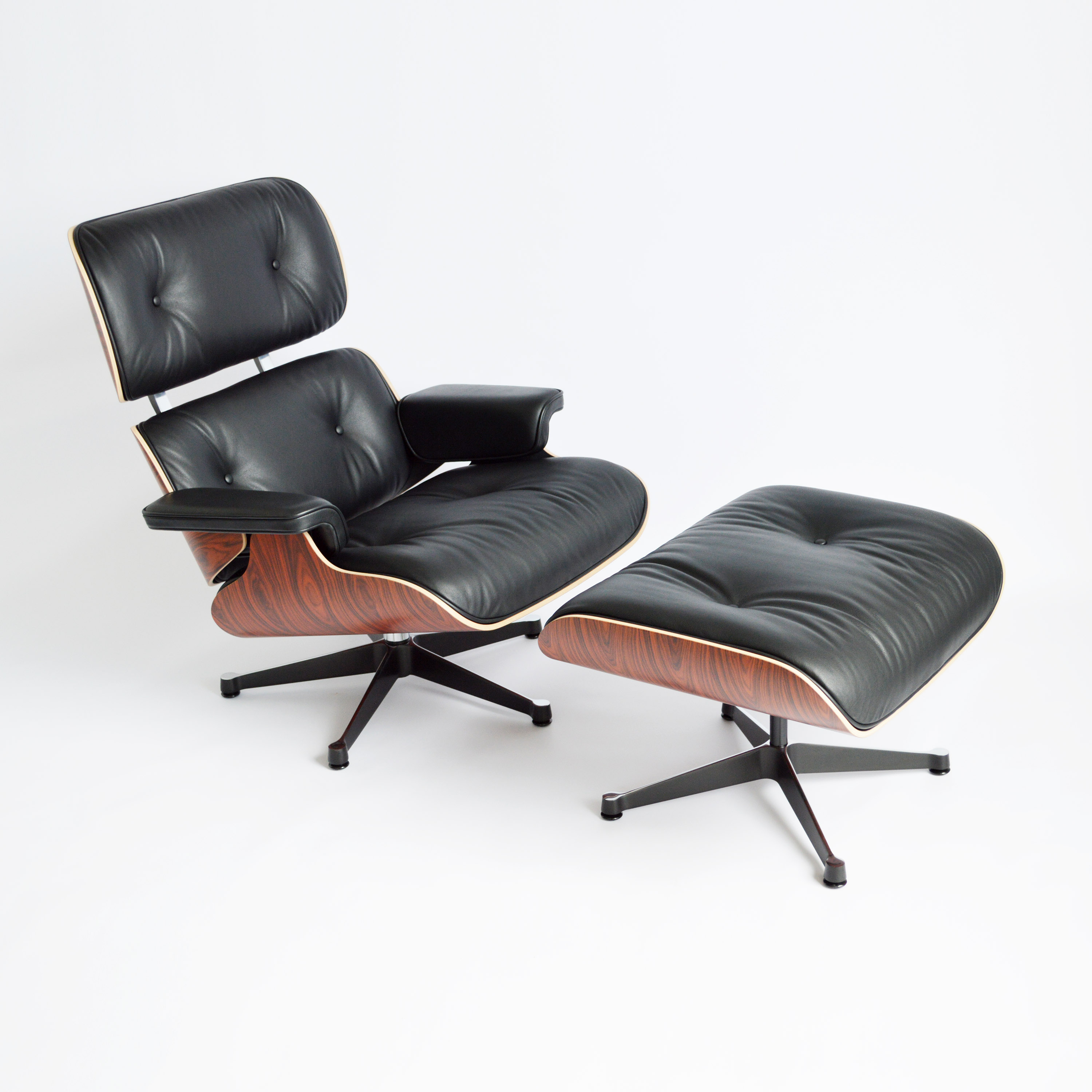 Eames Lounge Sessel Vitra Eames Lounge Chair And Ottoman Palisander Midmodern De