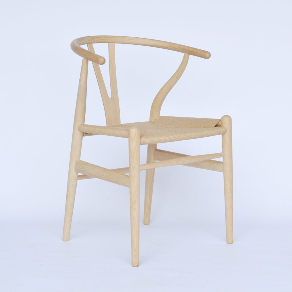 Wishbone Stuhl Carl Hansen Son Ch24 Wishbone Chair Eiche