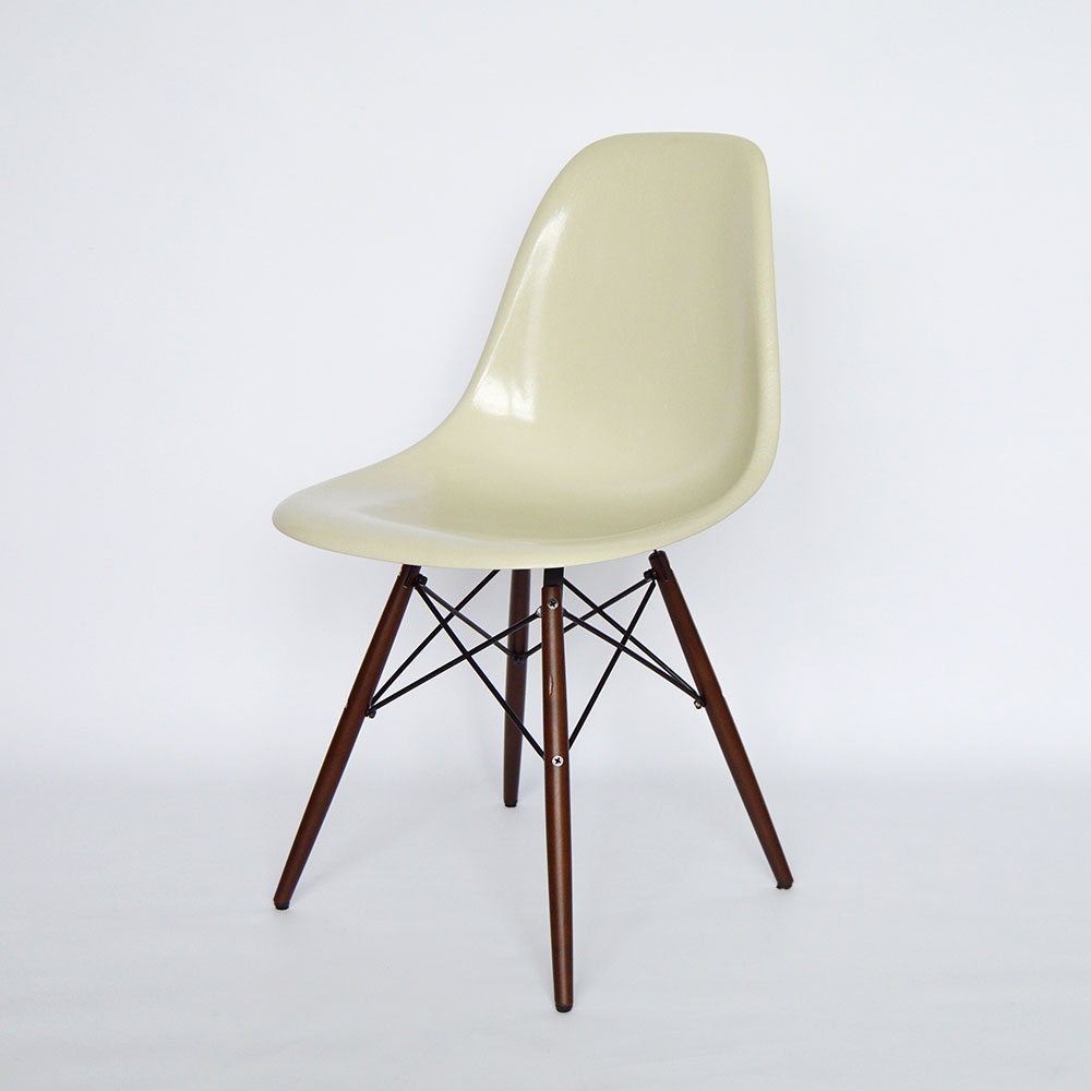 Lounge Sessel Fiberglas Vitra Herman Miller Eames Fiberglass Dining Side Chair