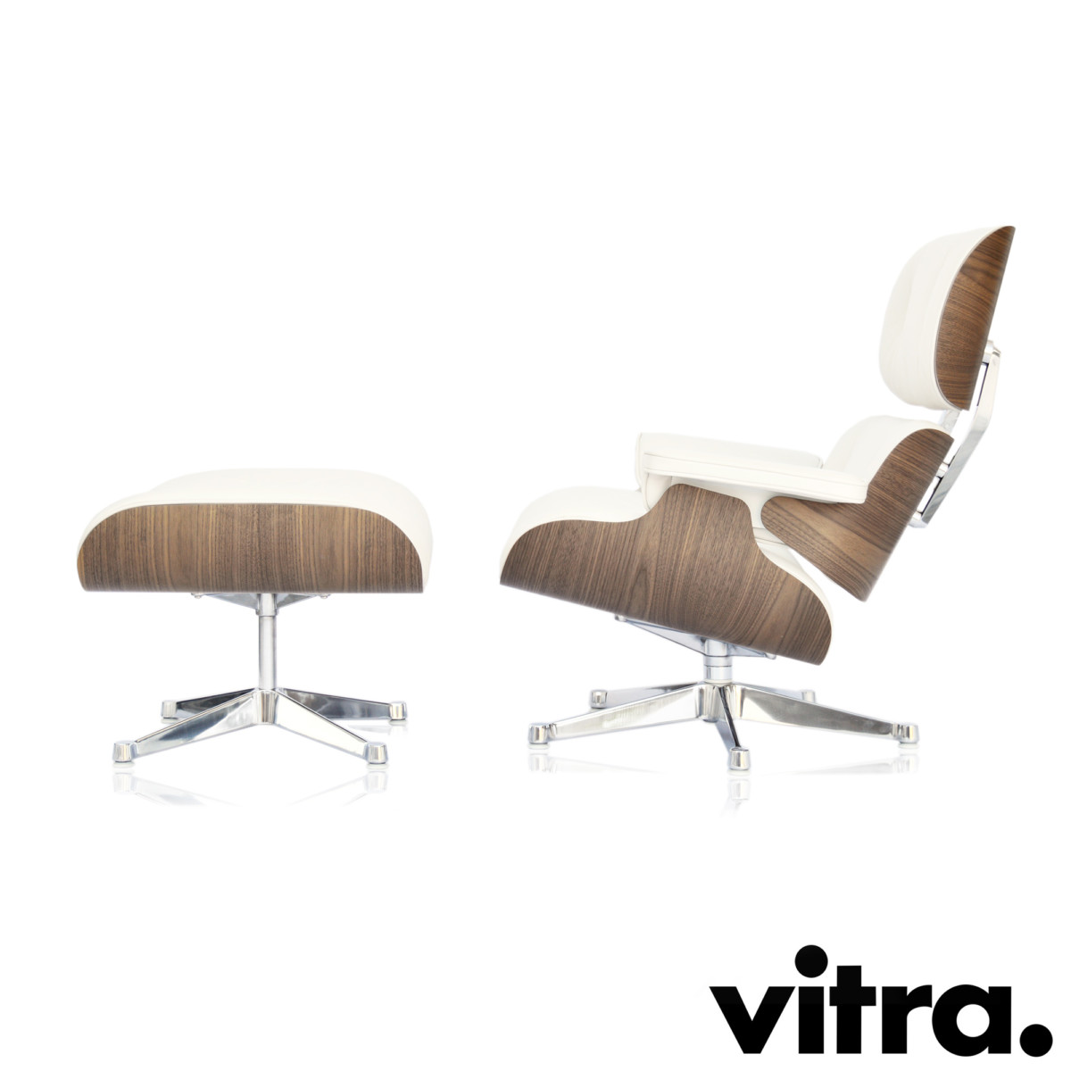 Lounge Sessel Eames Vitra Eames Lounge Chair Ottoman Neue Maße Weiss