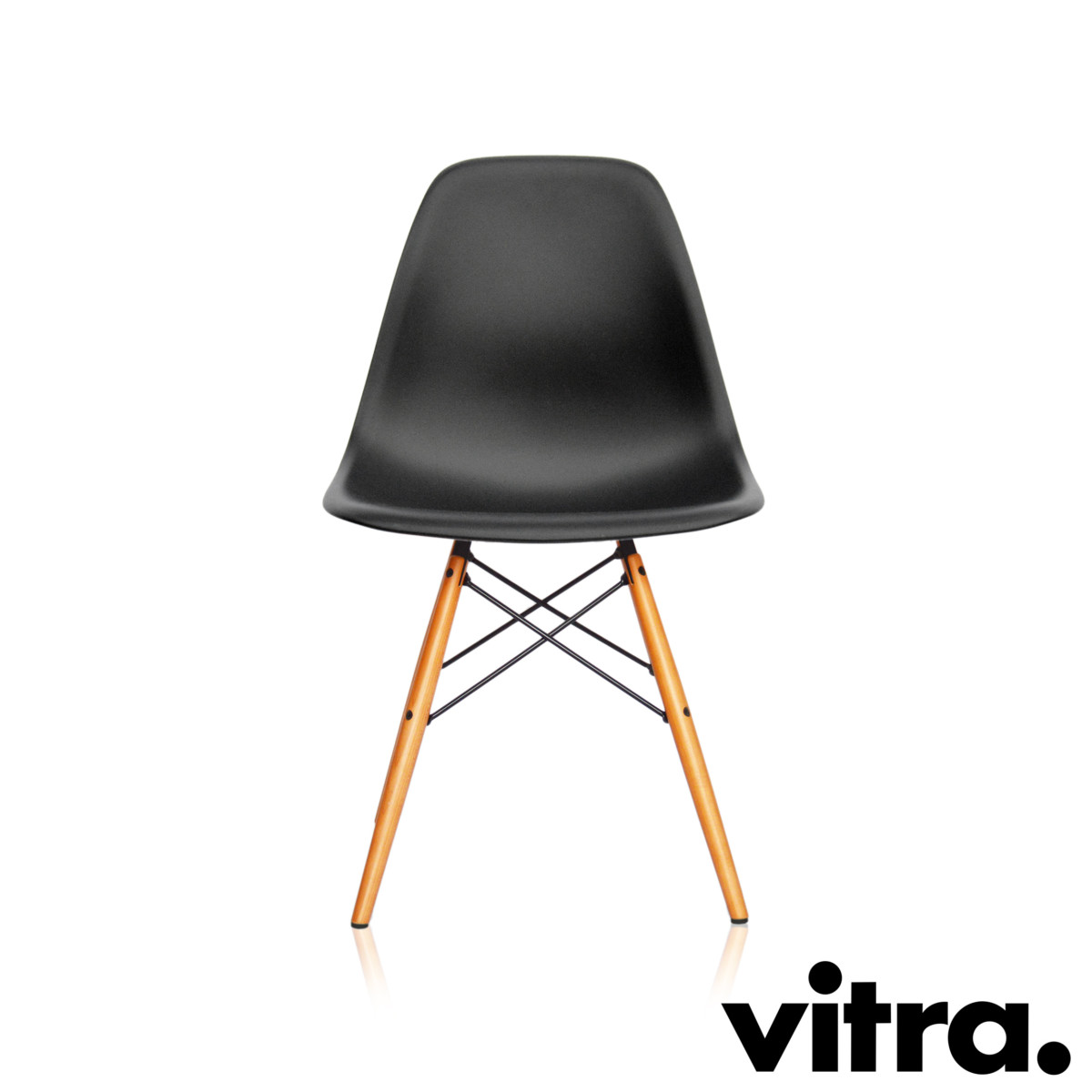 Eames Chair Dar Vitra Eames Plastic Side Chair Dsw Basic Dark Neue Höhe