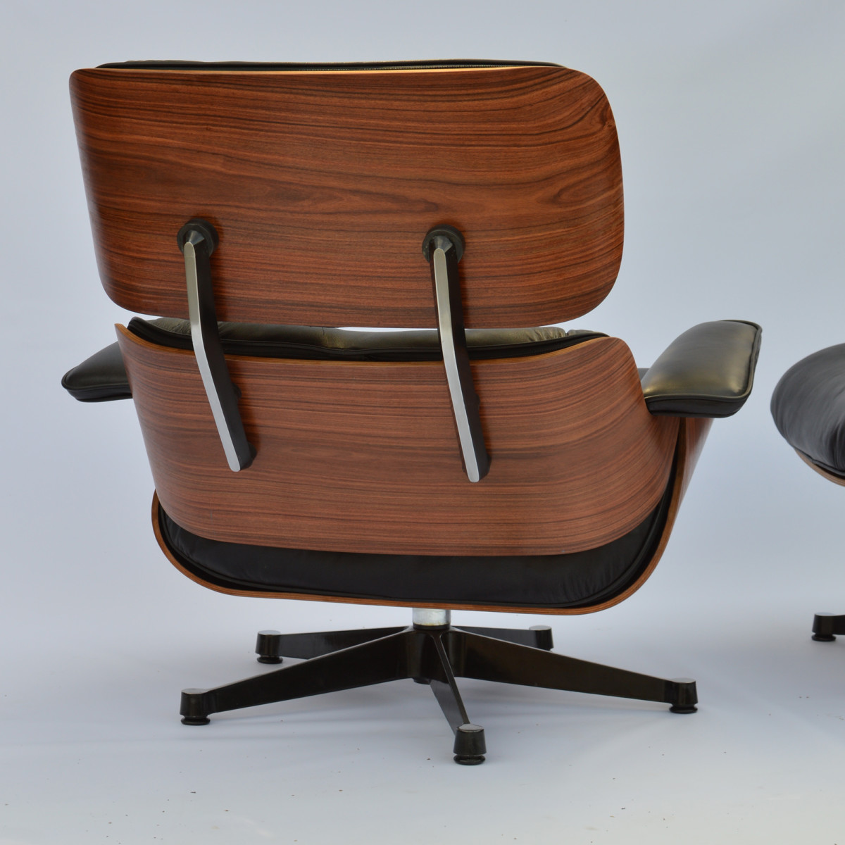 Holzschalen Sessel Vintage Eames Lounge Chair And Ottoman Palisander Herman