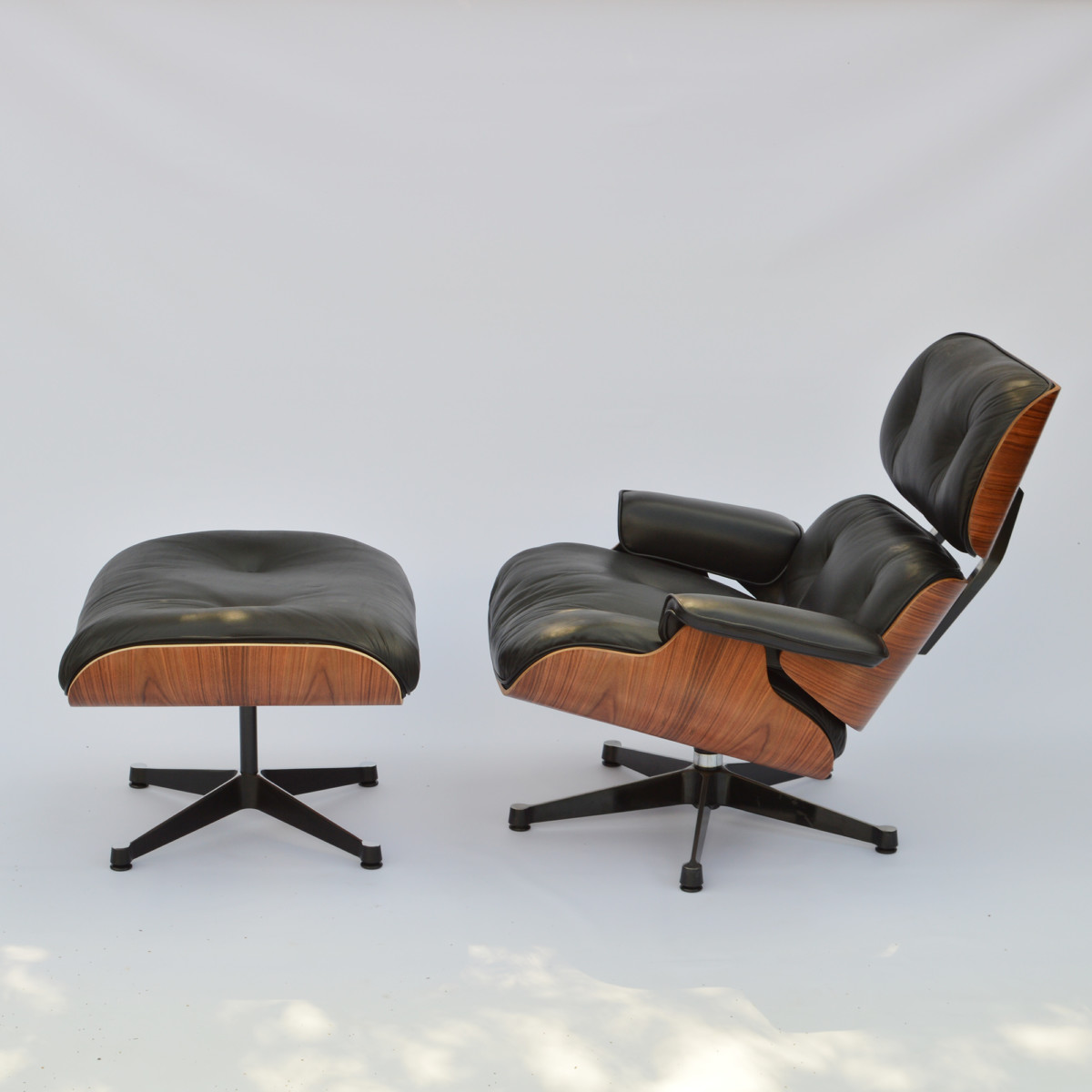 Lounge Sessel Eames Vintage Eames Lounge Chair Ottoman Palisander Herman Miller By Vitra Fehlbaum