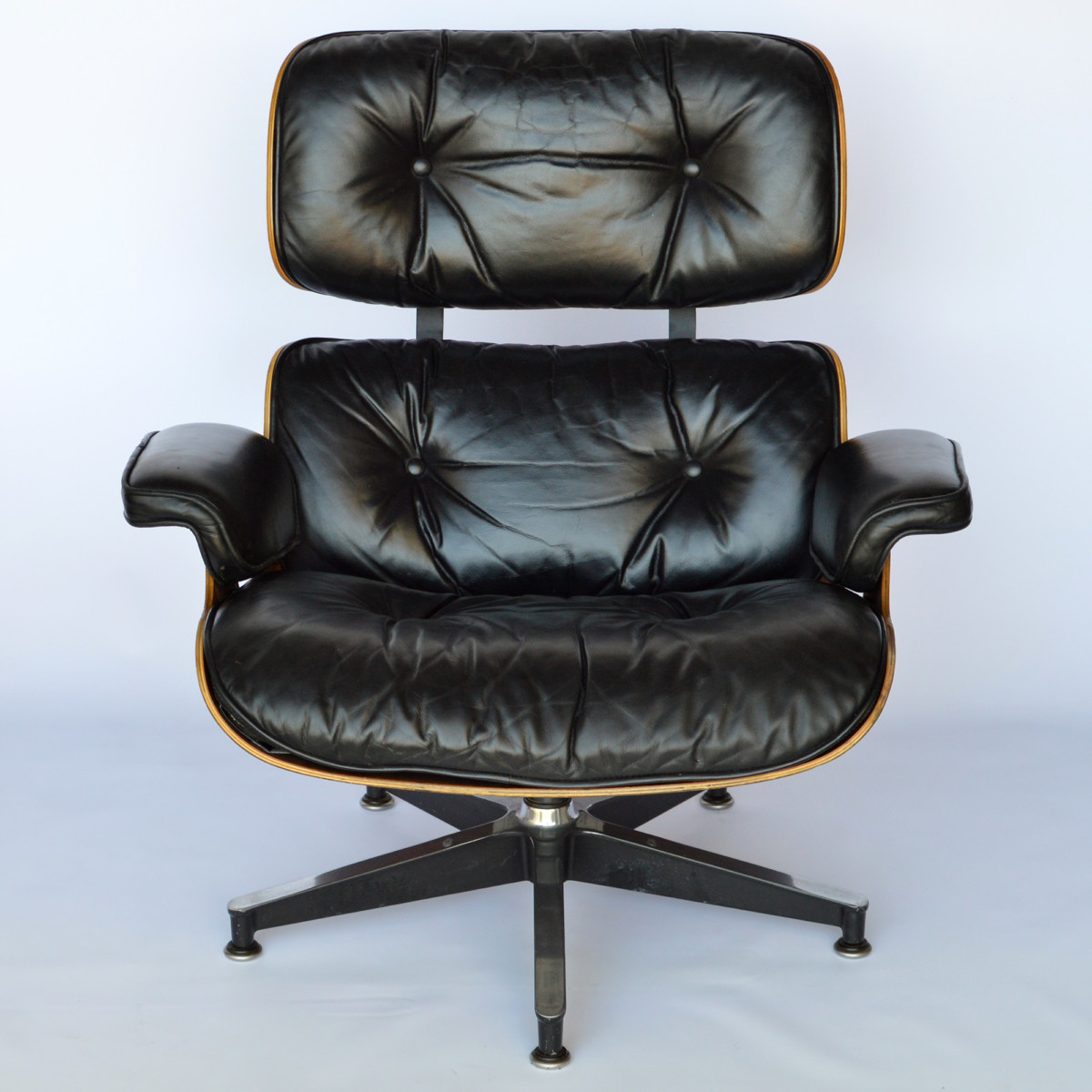 Mauser Sessel Eames Lounge Chair & Ottoman Palisander - Vintage, 1979 Im