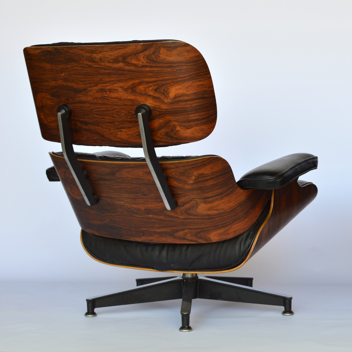 Holzschalen Sessel Eames Lounge Chair And Ottoman Palisander Vintage 1979 Im