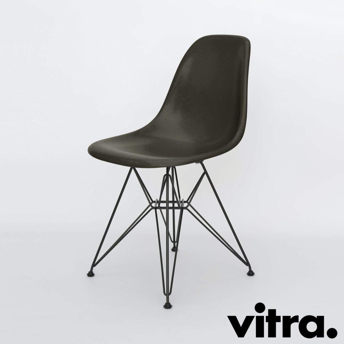 Sedia Eames Fiberglass | Vitra Dsw Eames Plastic Side Chair Dsw By ...