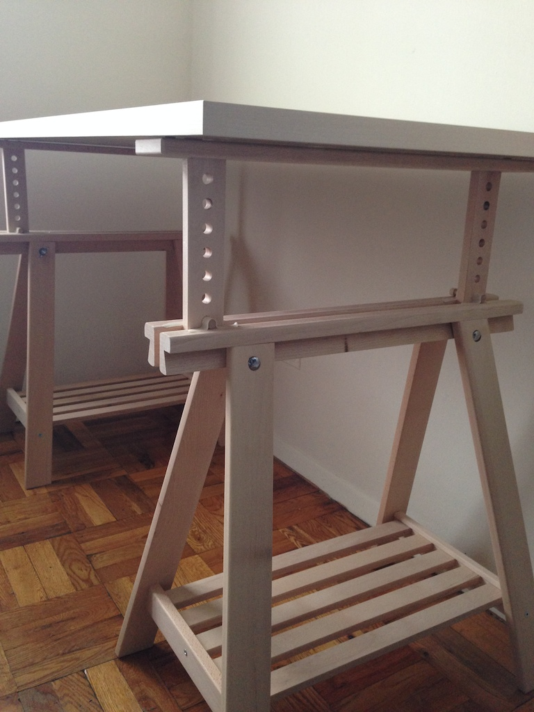 Printer Table Ikea I Just Built My First Standing Desk | Ricos New Blog
