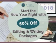 Start the New Year Right with 50% Off Editing and Writing Packages 2