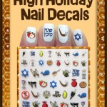 High Holiday Nail Decals